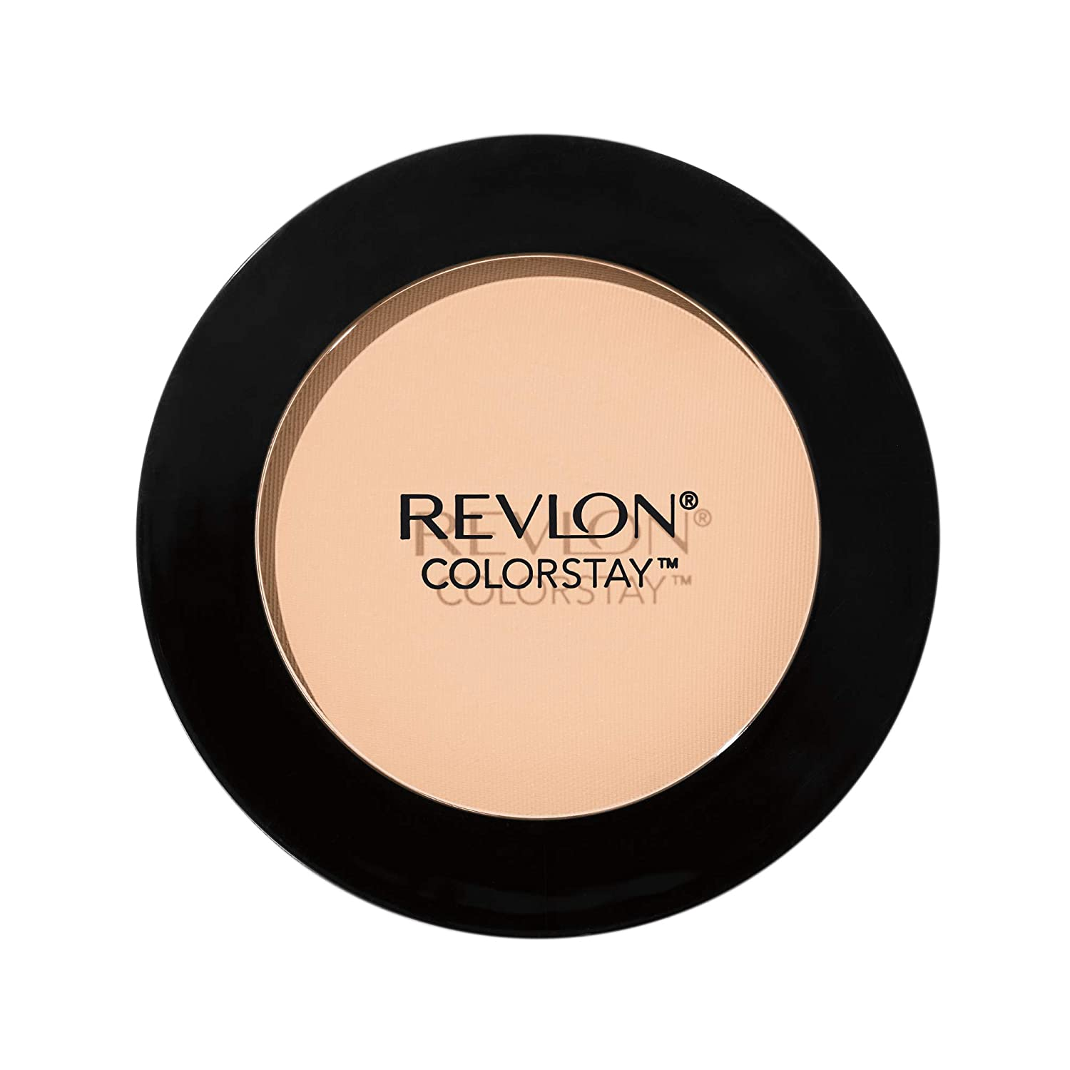 Revlon ColorStay Pressed Powder, Longwearing Oil Free, Fragrance Free, Noncomedogenic, 100 Banana