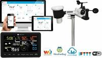 Ambient Weather WS-2902A Smart WiFi Weather Station with Remote Monitoring and Alerts